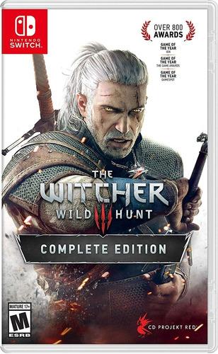 the witcher 3 wild hunt switch complete edition nuevo ya