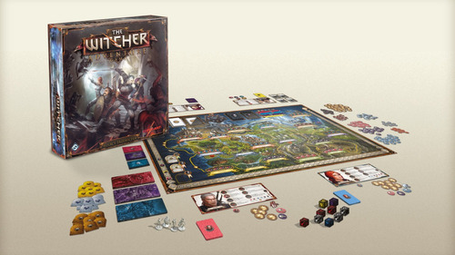 the witcher adventure game juego de mesa