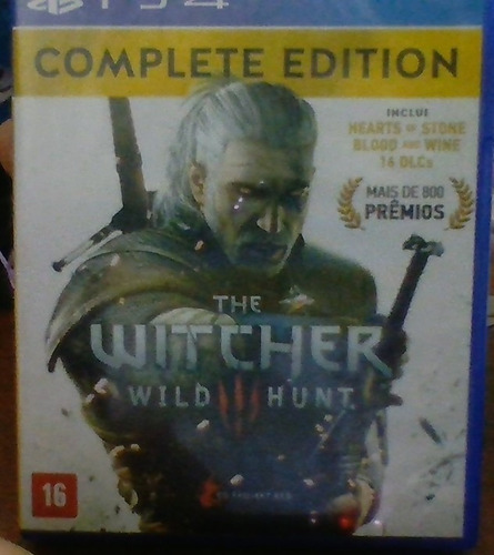 the withcer 3 wild hunt complete edition ps4
