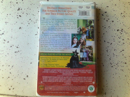 the wizard of oz el mago de oz vhs envio gratis
