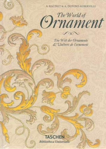 the world of ornament -  racinet, a