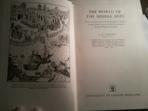 the world of the middle ages, c. f. strong