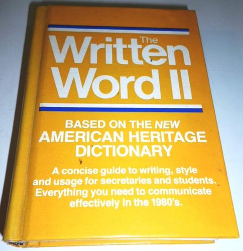 the written word ii