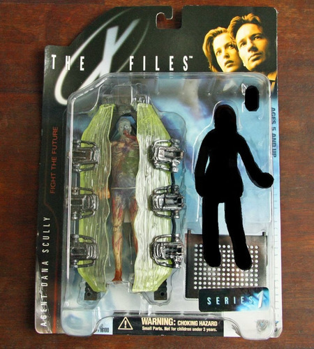 the x-files (fight the future) serie 1. mcfarlane toys. 1998