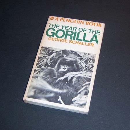 the year of the gorilla. george schaller