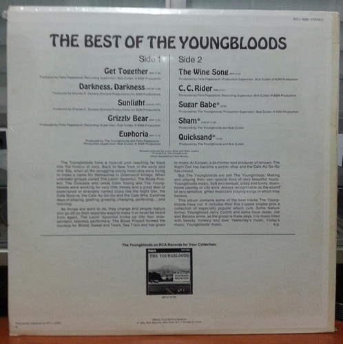 the youngbloods - the best of the youngbloods- 1970(lp imp.)