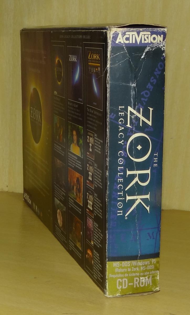 The Zork Legacy Collection (return + Nemesis + Anthology) Pc