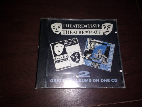 theatre of hate - he who dares wins i&ii (the cult) - kotin