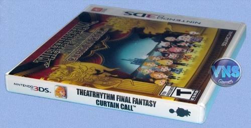 theatrhythm final fantasy curtain call - 3ds - lacrado