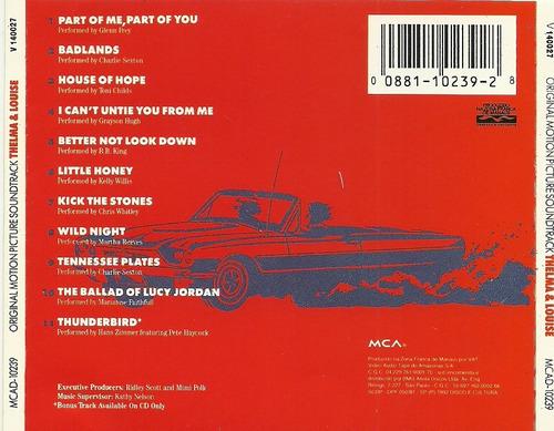 thelma e louise trilha sonora do filme b.b. king