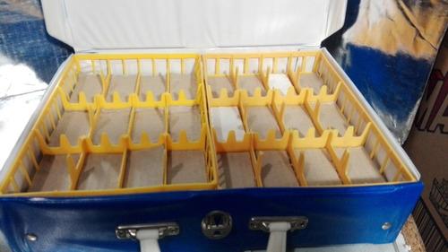 theo klein - coleccionador para 48 autos mini auto box
