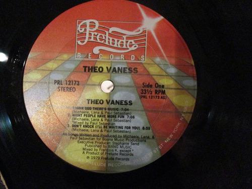 theo vaness - theo vaness (prelude prl 12173) usa