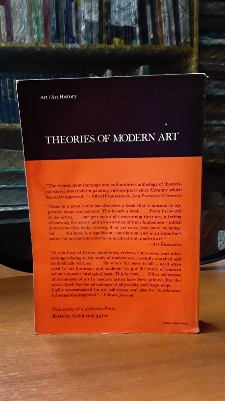 Theories Of Modern Art Herdchel B Chipp 186 75