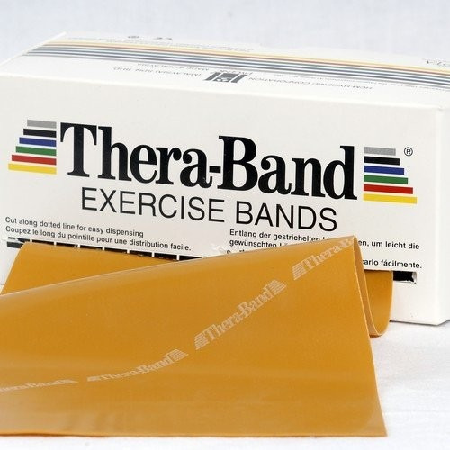 theraband gold por metro resortera deporte tiro