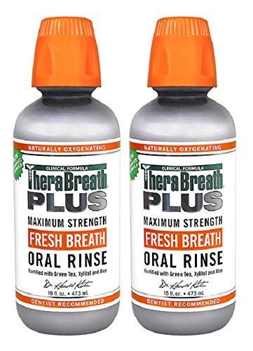 therabreath plus fresh breath extra strength té verde enjuag