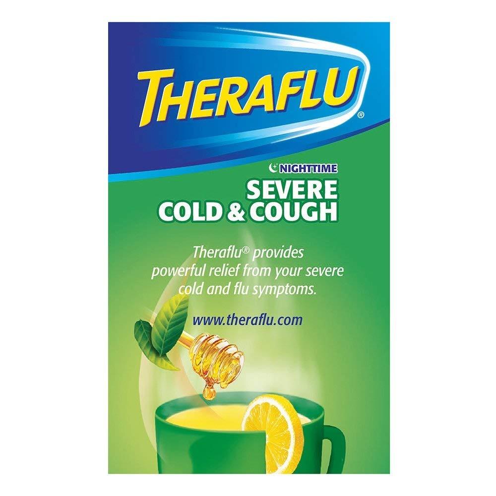 Theraflu Nocturno Gripe Severa Y Alivio Para La Tos Medicina