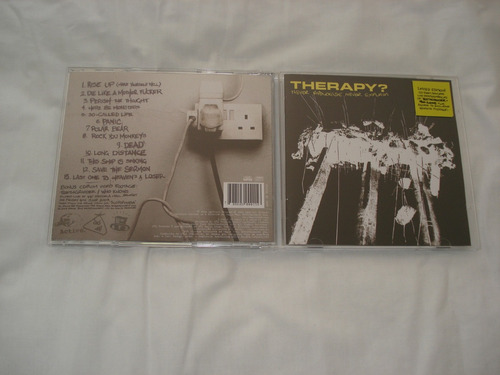 therapy? - never apologise, never explain - cd - nacional