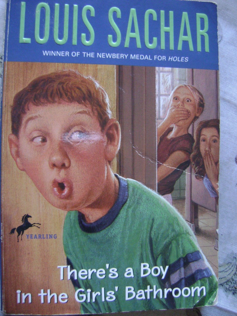 there s a boy in the girls bathroom . louis sachar. Cargando zoom.