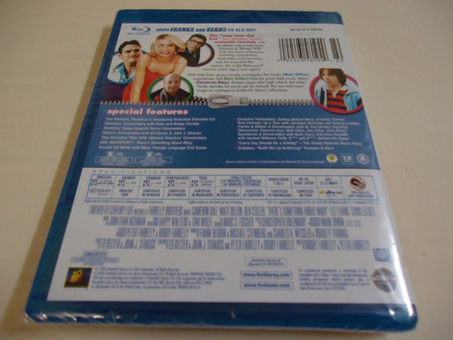 there's something about mary   blu-ray - nuevo