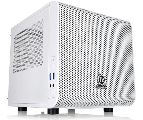 thermaltake core v1 snow edition torre computador pc case