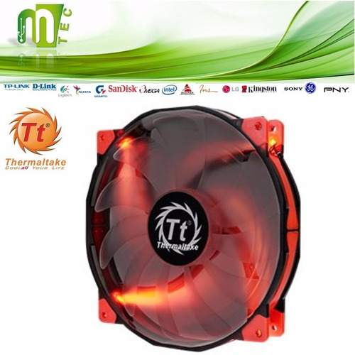 thermaltake luna led 200mm ventilador interno pc case gamer