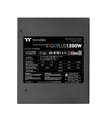 thermaltake toughpower ventilador inteligente irgb mas 80 rg
