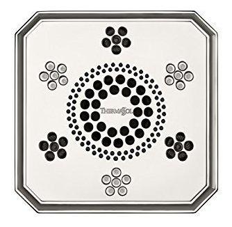 THERMASOL SLSRR-SB Shower Serenity Light Rain System Regency Satin Brass Sound