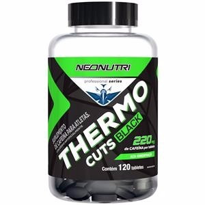 thermo cuts black - 120 tabletes - neonutri