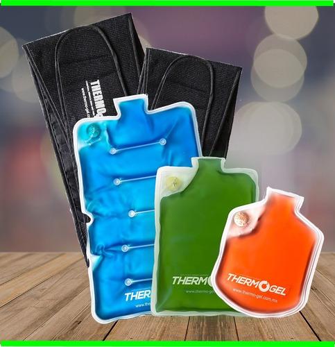 thermo gel compresa kit 3 compresas thermogel caliente frio