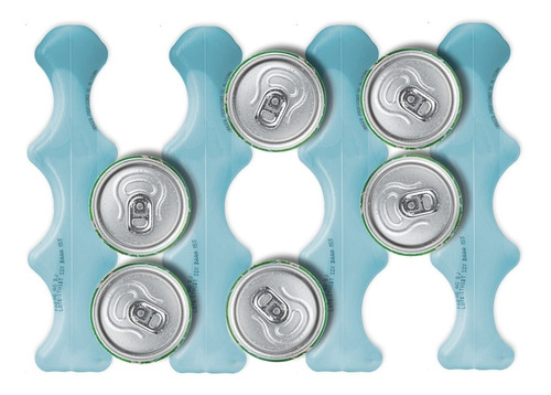 thermo ice + six pack 1 pz + sustituto hielo + reutilizable