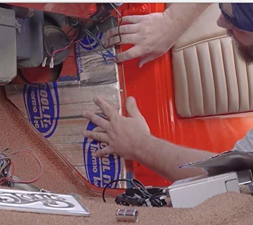 thermo-tec 14620 - 36 36 x 33 - 1/2 calor y sonido supresor