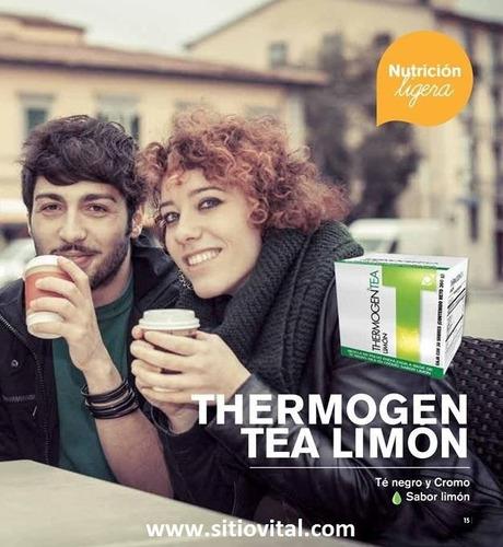 thermogen tea limón x 30 sobres