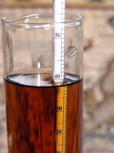 thermohydrometro termometro gravedad de cervezas artesanal