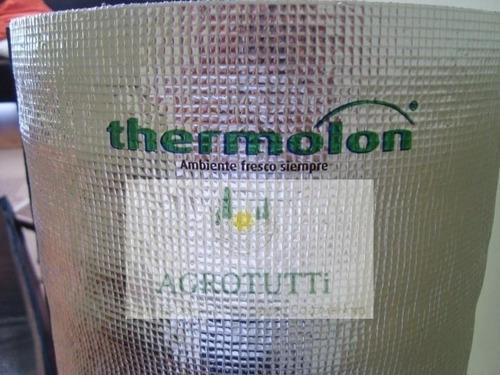 thermolon aislante térmico 12 mm 1.22 ancho x  25  metros