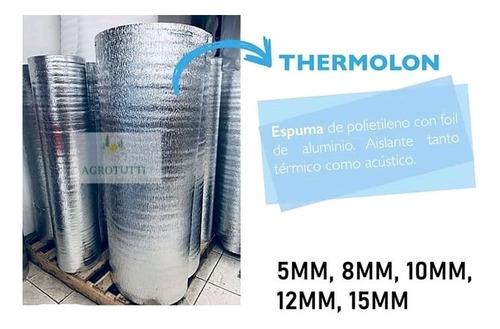 thermolon aislante térmico 15 mm 1.22 ancho x  25  metros
