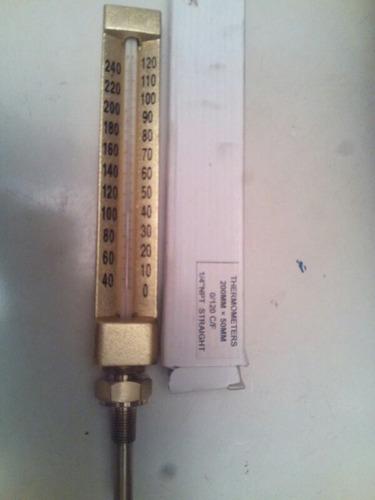 thermometro de 1/4  npt