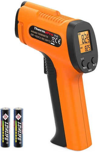 thermopro tp30 - pistola termómetro digital por infrarrojos,