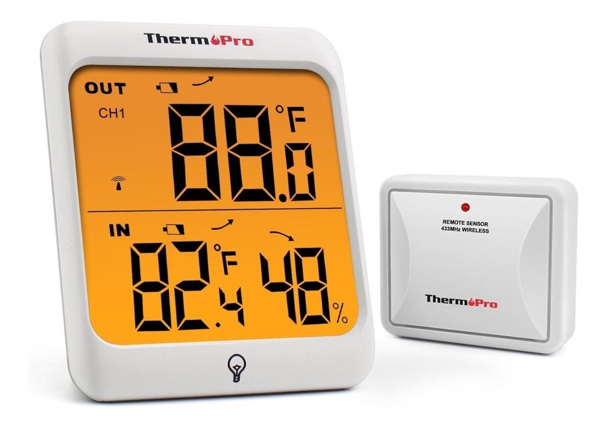 1202e0a7f thermopro tp63 higrometro inalambrico digital exteriores. Cargando zoom.