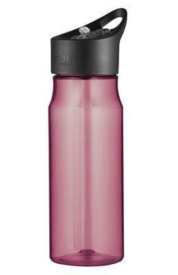 thermos de botella rosa