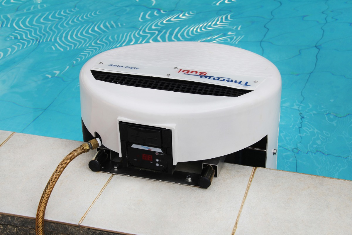 Thermosub aquecedor de piscina por imers o port til r for Piscina portatil