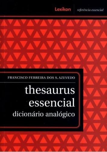 thesaurus essencial - dicionário analógico