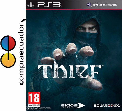 thief ps3 discos físicos sellados originales nuevos ps3