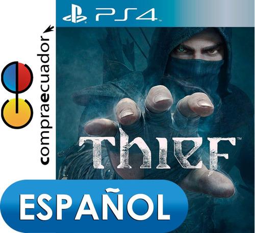 thief ps4 playstation 4, juego original fisico sellado