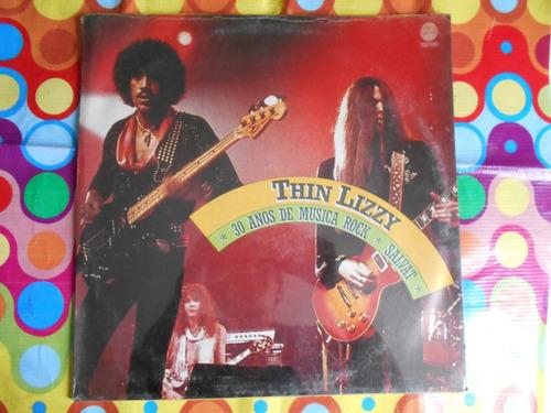 thin lizzy lp 30 años de musica rock salvat