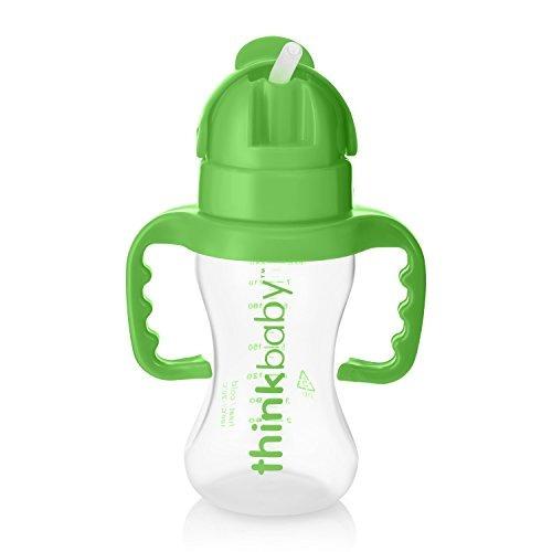 thinkbaby thinkster pitillo botella verde claro verde 9 onza