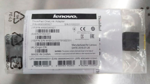 thinkpad onelink adapter lenovo