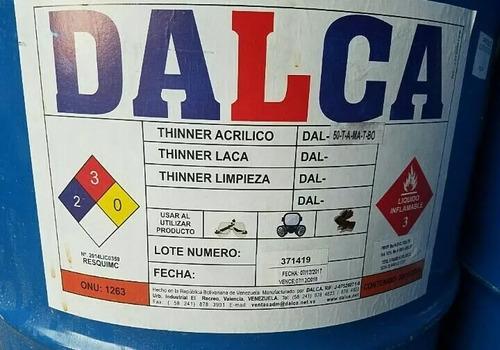 thinner acrilico por litro