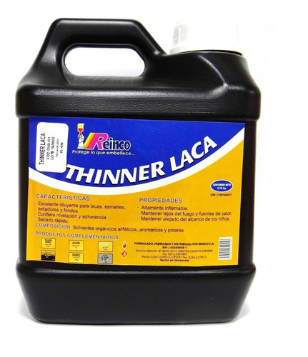 thinner tiner tinner laca en galon