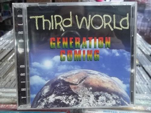 third world generation coming cd original frete 12,00