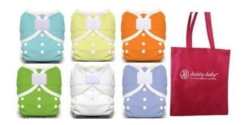thirsties pañal de tela tamaño duo diaper 2 6 colores